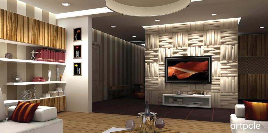 Декоративная дизайнерская панель 3D Artpole, ЭКО, 000001 Bladet