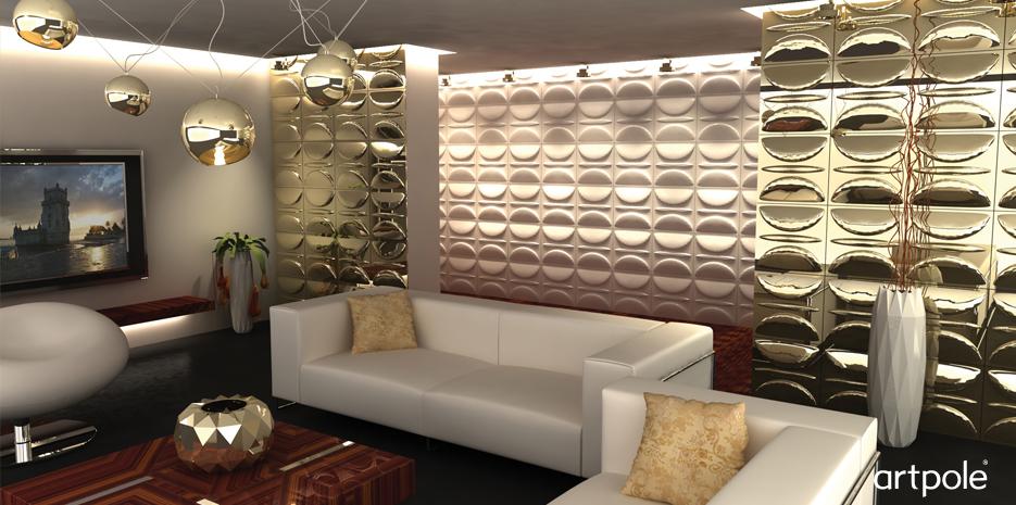 Декоративная дизайнерская панель 3D Artpole, ЭКО, 000004 Adel