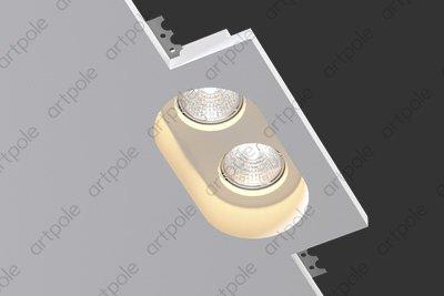 Гипсовый светильник SGS7 из гипса