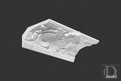 Карниз орнаментальный SK39 из гипса