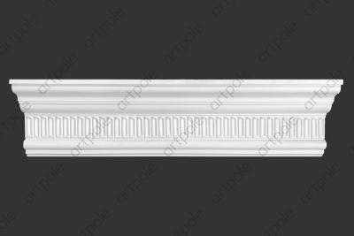 Карниз орнаментальный SK47N (наборный) из гипса