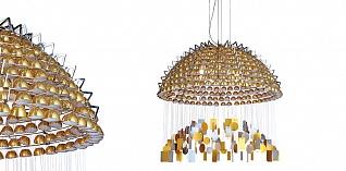 Стильные подвесные светильники Kuppel C