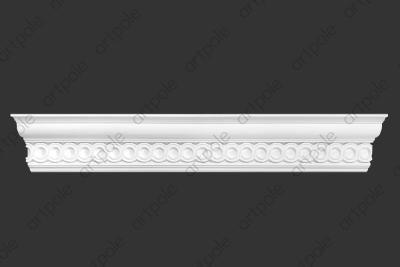 Карниз орнаментальный SK44N (наборный) из гипса
