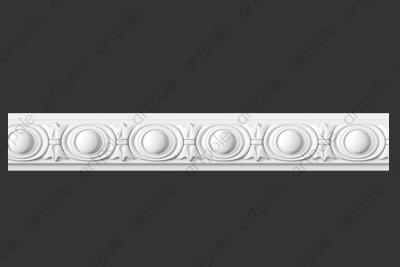 Порезка орнаментальная SP48 из гипса