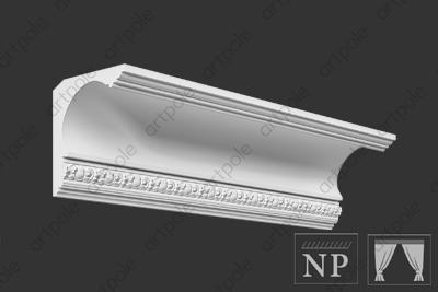 Карниз орнаментальный SK75N из гипса