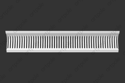 Карниз орнаментальный SK117 (вентиляционный) из гипса