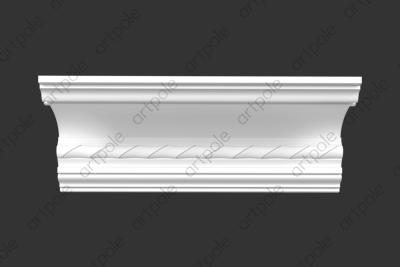 Карниз орнаментальный SK115N (наборный) из гипса