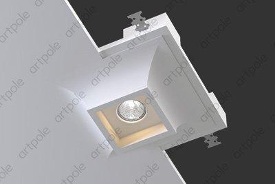 Гипсовый светильник SGS12 из гипса