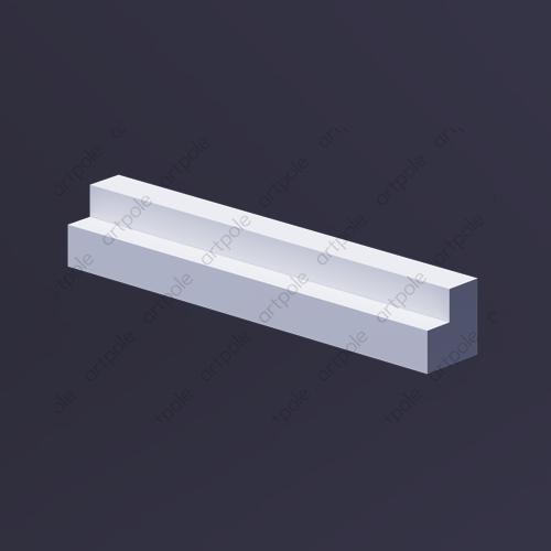 Профиль для внешнего угла панелей Fields Platinum