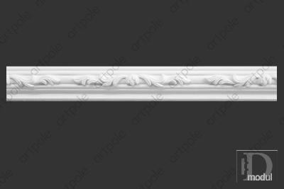 Карниз орнаментальный SK35 из гипса