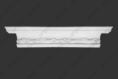 Карниз орнаментальный SK50N (наборный) из гипса