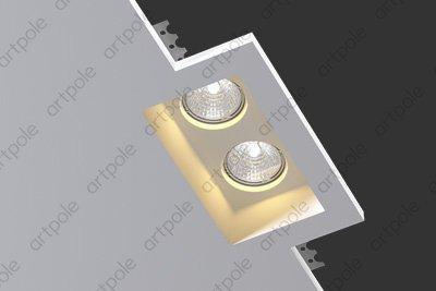 Гипсовый светильник SGS3 из гипса