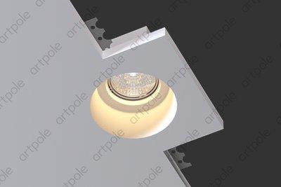 Гипсовый светильник SGS5 из гипса