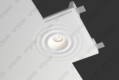 Гипсовый светильник SGS15 из гипса