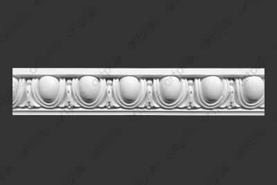 Карниз орнаментальный SK57 из гипса
