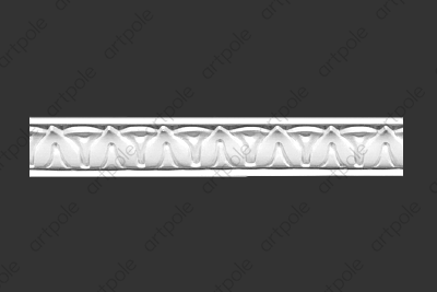 Порезка орнаментальная SP40 из гипса