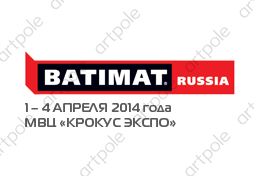 Exhibition BATIMAT RUSSIA 2014 Crocus Expo from 1 to 4 April 2014.