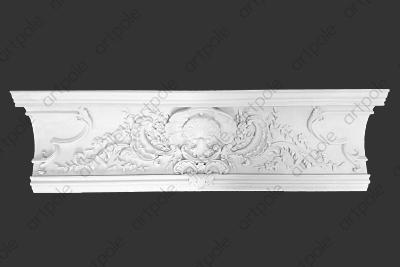 Карниз орнаментальный SK52 из гипса