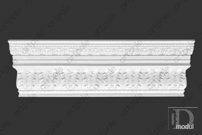Карниз орнаментальный SK40 из гипса