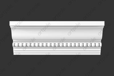 Карниз орнаментальный SK67N (наборный) из гипса