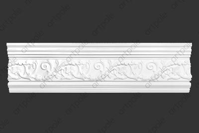 Карниз орнаментальный SK45N (наборный) из гипса