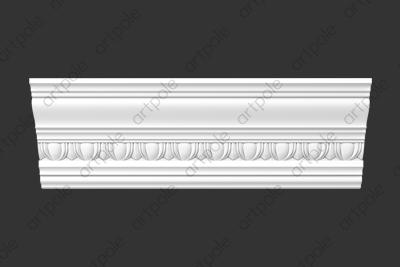 Карниз орнаментальный SK72N (наборный) из гипса