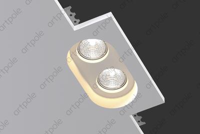 Гипсовый светильник SGS8 из гипса